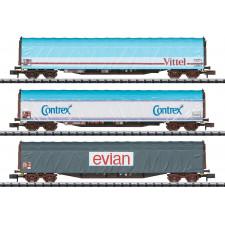 Güterwagen-Set Rils SNCF