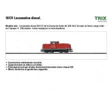 Diesellok BR 213 DB AG