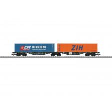 Doppel-Tragwagen PKP Cargo
