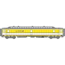 Voit. POSTALE OCEM Ambulant 21,6 m Ep.IV-V - PAZ  jaune et bande blanc