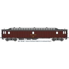 AMBULANT 21,6 m Ep.IV - PAz brun PTT, châssis gris, Bogie Y2 N°50 87 0
