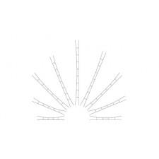 TT Universal-Fahrdraht 110 - 124 mm, 5 Stück