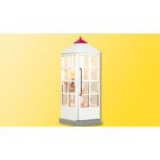 H0 Telefonzelle Telekom, geschlossen