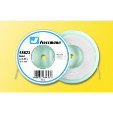 10 m Kabelring, 0,14 mm², weiß