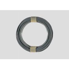10 m Kabelring, 0,14 mm², grau