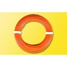 10 m Kabelring, 0,14 mm², orange