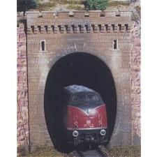 2 ENTREES DE TUNNEL 1 VOIE