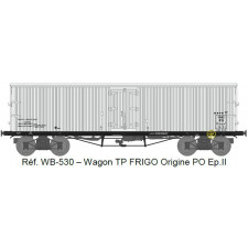 Wagon TP FRIGO Origine PO Ep.II