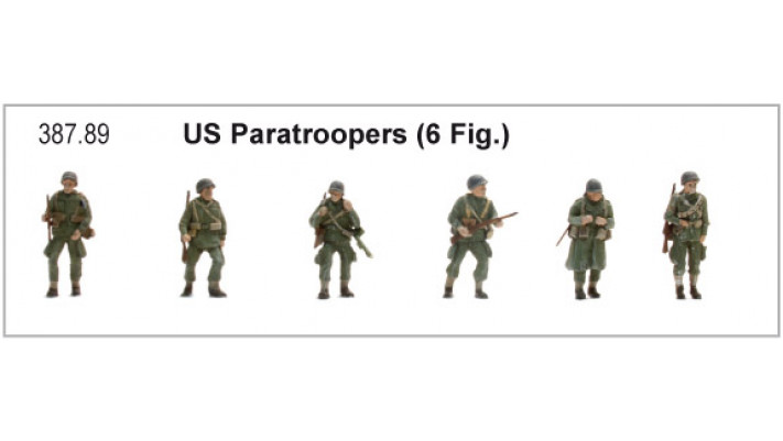 US Paratroopers (6 Fig )