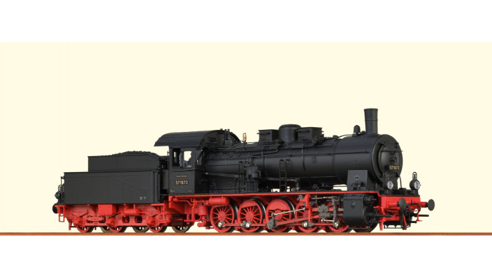 H0 Steam Loco 57.10 DRG, II, DC An BASIC+