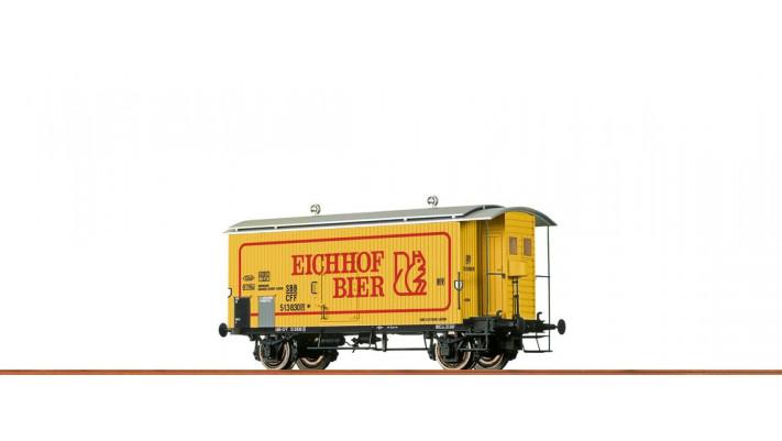 H0 Freight Car K2 SBB, III, Eichhof Bier