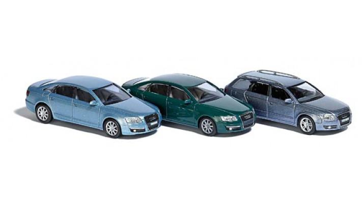 Audi - set de 3 voitures #