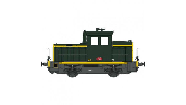 EPM -Y6453 vert traverse jaune ep IV SNCF - sound