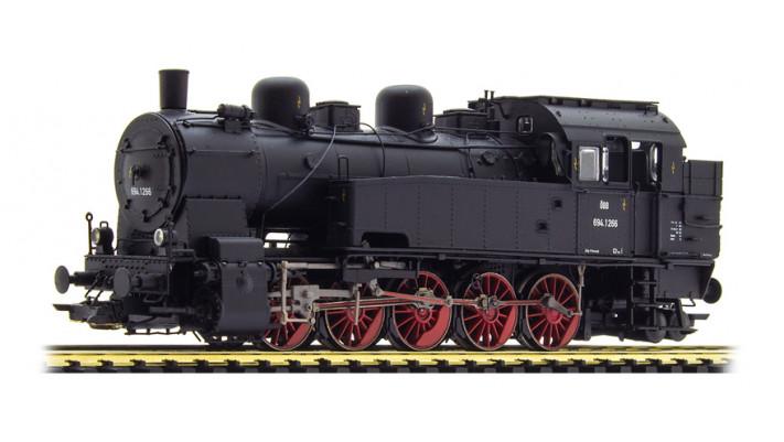 Dampflok, H0, BR T16.1, 694 1266 ÖBB, Ep III, schwarz, Vorbildzustand
