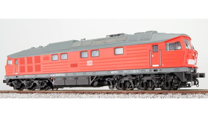 Diesellok, H0, BR 132, BR 232-04, Captrain Ep VI, grau-hellgrün, Vorbi