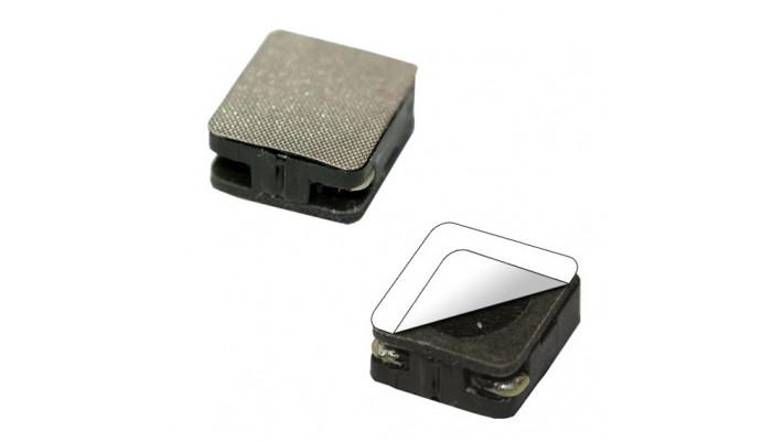 Lautsprecher 14mm x 12mm, rechteckig, 8 Ohm, mit integrierter Schallka