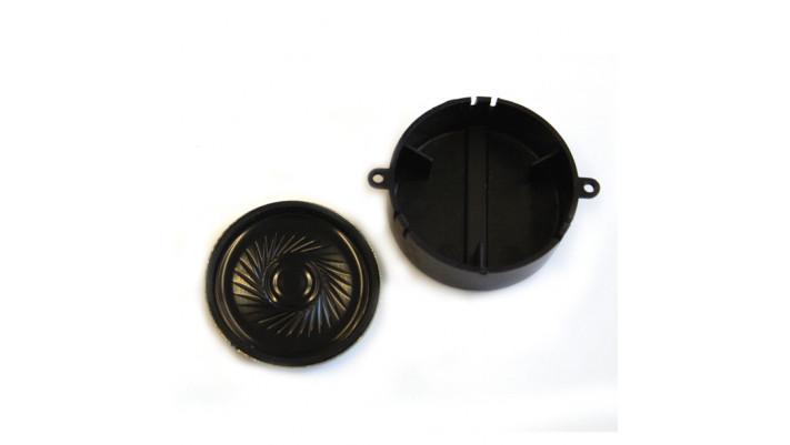 Lautsprecher 40mm, rund, 32 Ohm, mit Schallkapsel für LokSoundXL