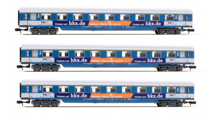 SET 3 WAGONS HKX