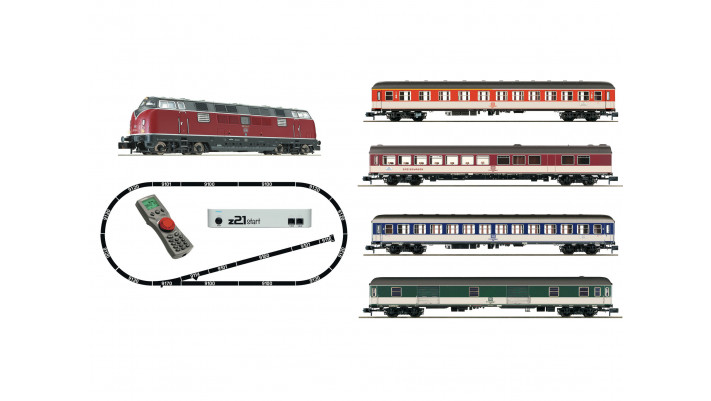 z21 start Digital starter set: Locomotive class 221 DB