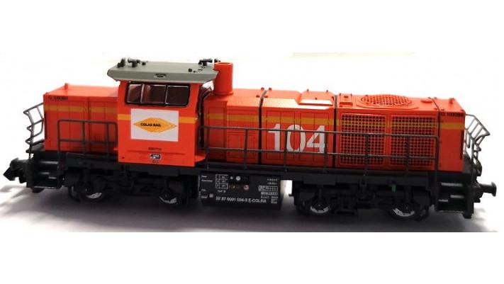 Locootive G1000 colas rail SNCF