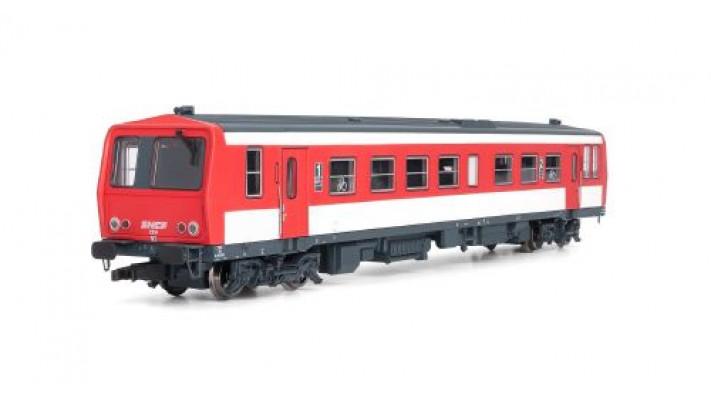 Autorail X2200, livrée rouge et blanc #