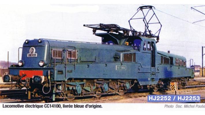 Locomotive électrique CC14000 livrée bleue d'origine #