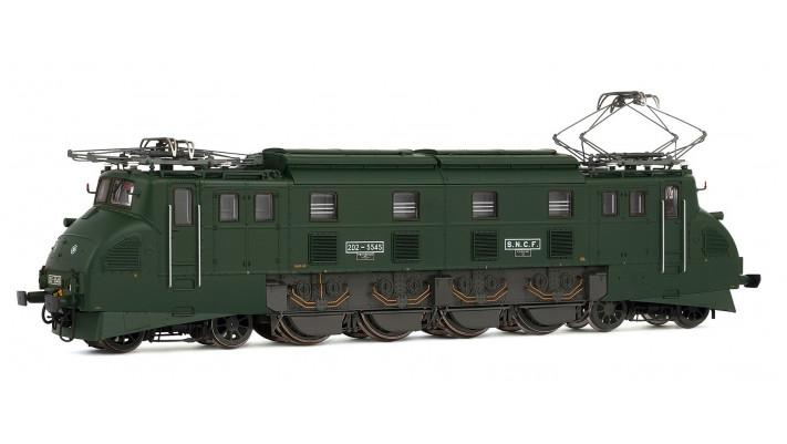Locomotive électrique 2D2 5545   femme enceinte  , époque IV, Digital