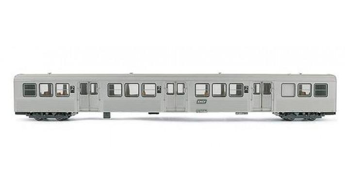 Voiture RIB Voyageurs 2 ème classe - SNCF ##
