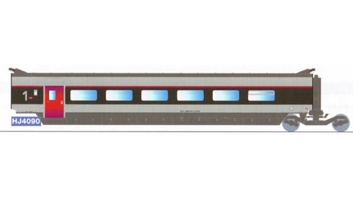 Voiture complémentaire 1ère classe TGV SUD EST   rénové
