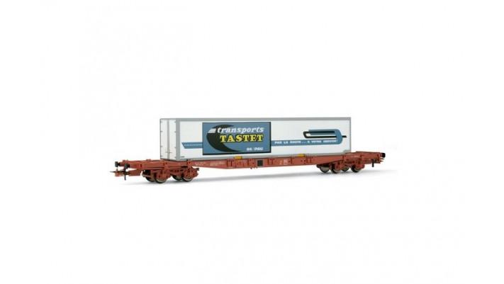 Wagon plat, Container   Tastet   #