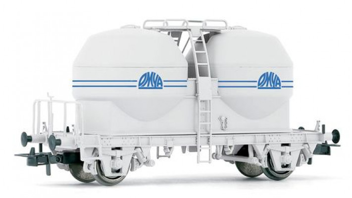 Wagon silo pour pulvérulents Ucs   OMYA  , SNCF