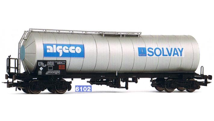 Wagon citerne   Solvay  , SNCF