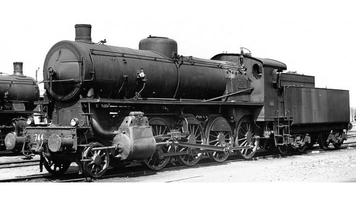 Steam locomotive Gr.744 Caprotti