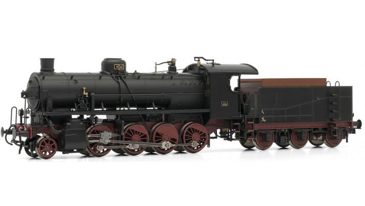 Steam locomotive Gr.740 Caprotti w/3 axles tender