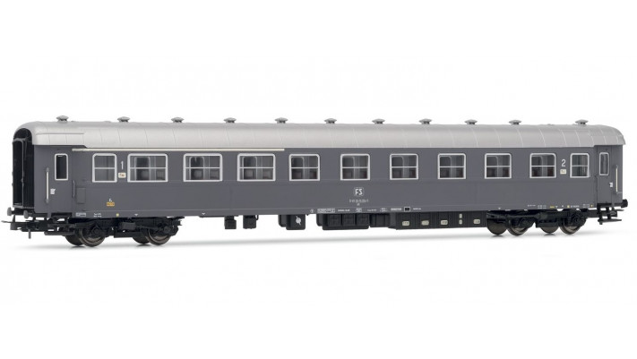 FS coach Type 59 mixed 1st/2nd class, grey ivery