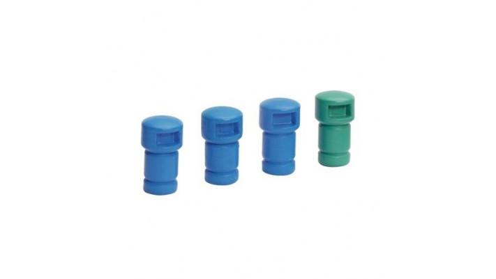 4 poubelles