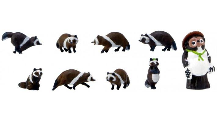8 ratons laveurs HO