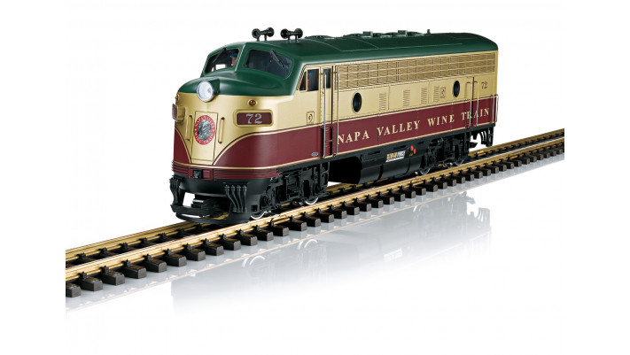 Locomotive diesel Napa Valley