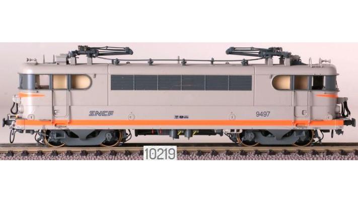SNCF BB 9497, gris/orange, logo nouilles  /  Ep. V  /  SNCF  /  HO  /