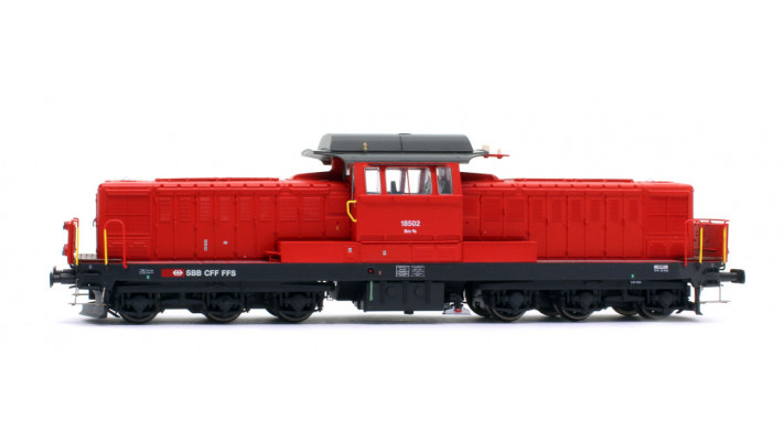 Locomotive Bm 6/6 SBB 3 rails sound