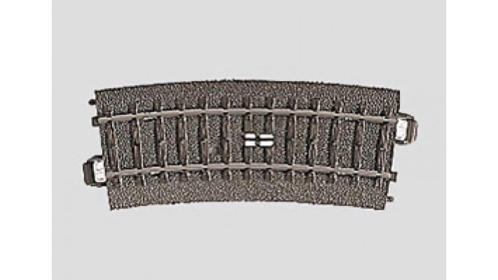 Rail à pédale courbe   r360 mm,15 G