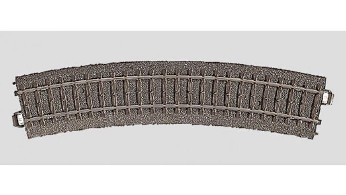 Rail courbe  r437,5 mm,24,3 Gr.