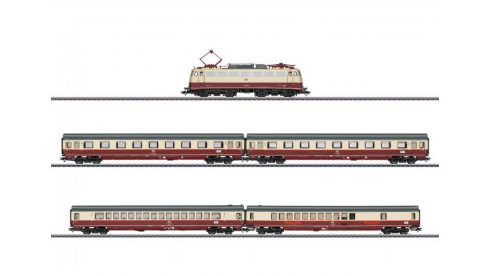 Coffret de train  Train à tranches mutliples Rheingold  ,DB ,époque IV