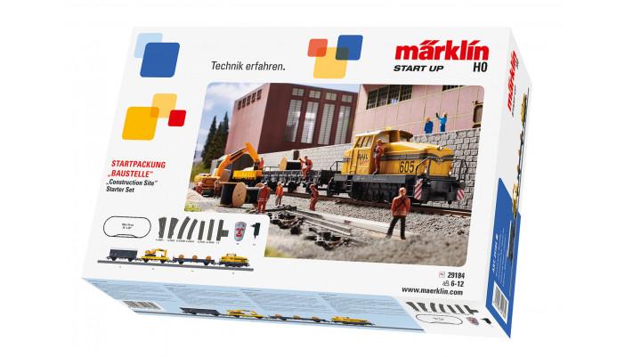 Märklin Start up - Coffret de départ Chantier. 230 V