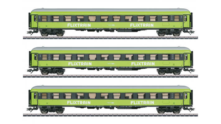 Personenwagen-Set Flixtrain
