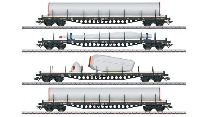 Coffret de wagons à ranchers Windkraft (énergie éolienne)