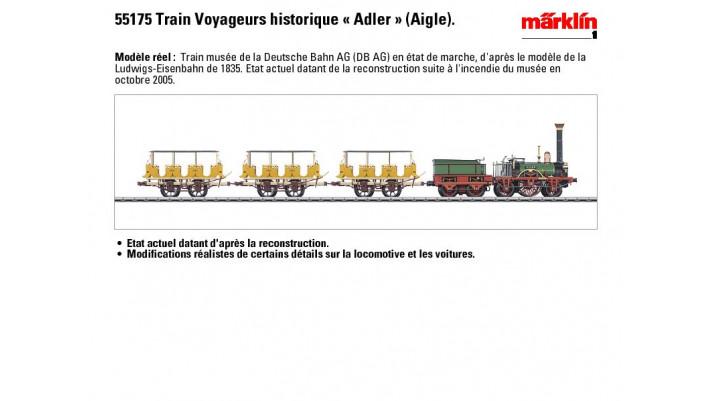 Zugpackung Adler - Eisenbahnj