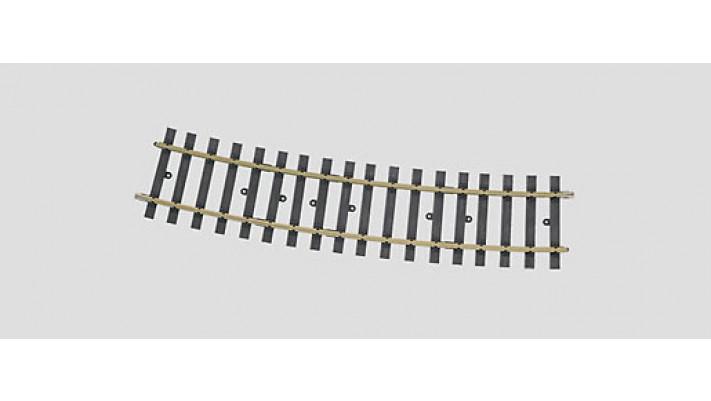 Gleis gebogen 15?1394 mm(H10