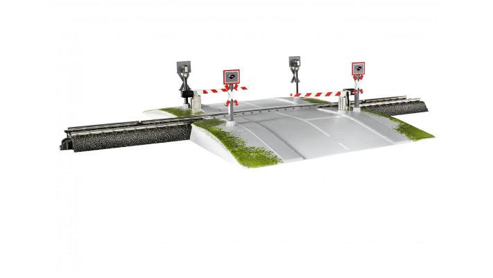 Märklin Start up - Passage à niveau monopièce entièrement automatique