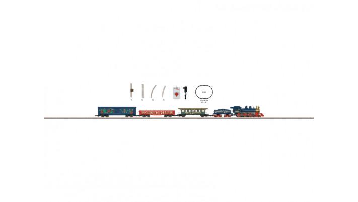 Startset Marché de Noël locomotive à vapeur avec train de marchandises